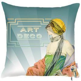 Povlak na polštář Art Deco, 43x43cm
