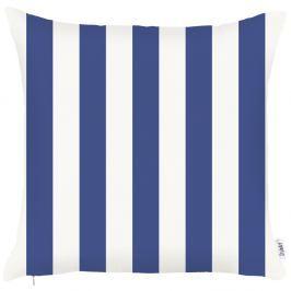 Modrý povlak na polštář Apolena Sail Stripes, 43x43cm