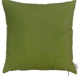 Zelený povlak na polštář Apolena Leaf, 41x41cm
