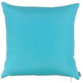Tyrkysově modrý povlak na polštář Apolena Simply Blue, 41x41cm
