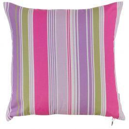 Polštář s náplní Purple Stripes