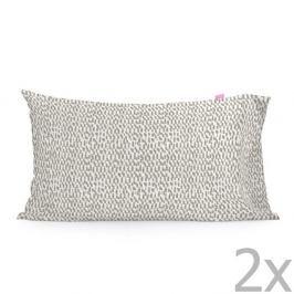 Sada 2 bavlněných povlaků na polštář Happy Friday Light,50x75cm