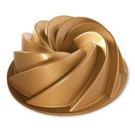 Forma na bábovku ve zlaté barvě Nordic Ware Rondo Heritage, 2,4 l
