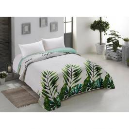 Oboustranný přehoz přes postel z mikrovlákna AmeliaHome Makia, 260 x 280 cm