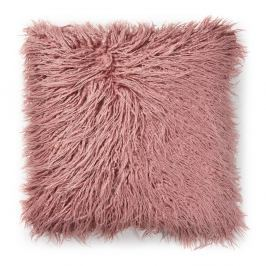 Růžový polštář La Forma Brock, 45x45cm