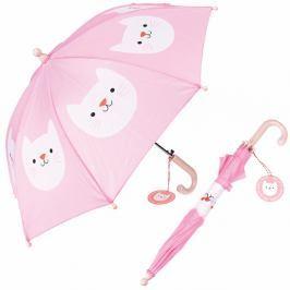 Růžový deštník Rex London Cookie The Cat