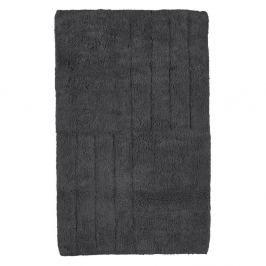 Černá koupelnová předložka Zone Classic, 50 x 80 cm