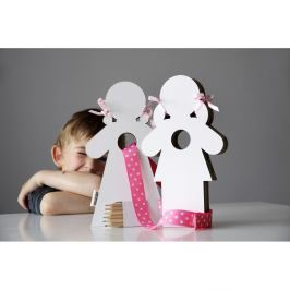 Dekorativní panenky k domalování Unlimited Design Duo