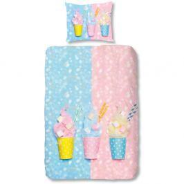 Dětské povlečení na jednolůžko z čisté bavlny Good Morning Sweet Candy,140x200cm