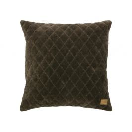 Tmavě šedohnědý polštář De Eekhoorn Cuddle