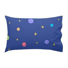 Modrý bavlněný povlak na polštář Mr. Fox Little Prince, 40 x 60 cm