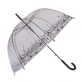 Transparentní holový deštník Birdcage Paris, ⌀79cm