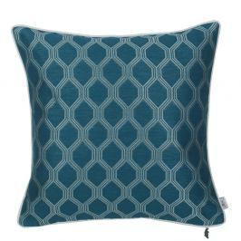 Modrý povlak na polštář Apolena Mandi, 43 x 43 cm