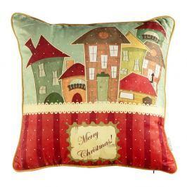Vánoční povlak na polštář Apolena Comfort Houses, 43x43cm