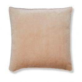 Světle béžový povlak na polštář Catherine Lansfield Basic Cuddly, 55x55cm