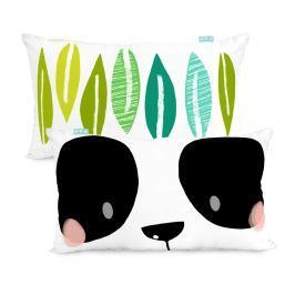 Bavlněný oboustranný povlak na polštář Moshi Moshi Panda Garden, 50x30cm