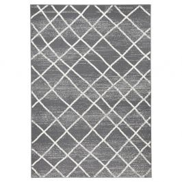 Tmavě šedý koberec Hanse HomeRhombe, 140x200cm