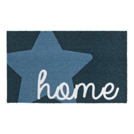 Modrá rohožka Zala Living Design Star Home Blue, 50x70cm
