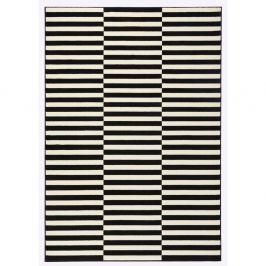 Černo-bílý koberec Hanse Home Gloria Panel, 160x230cm