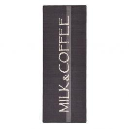 Šedý kuchyňský běhoun HanseHomeMilk&Coffee, 67x180cm