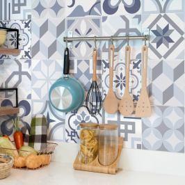 Sada 24 dekorativních samolepek na stěnu Ambiance Spa, 10 x 10 cm