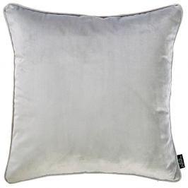Světle šedý povlak na polštář Apolena Velvet, 45 x 45 cm