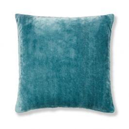Modrý povlak na polštář Catherine Lansfield Basic Cuddly, 55x55cm
