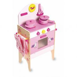 Dětská kuchyňka s 8 doplňky Legler Cooker