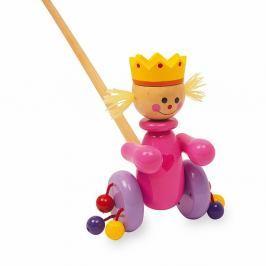 Dřevěná tahací hračka Legler Queen