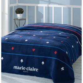 Modrá deka Marie Claire, 150 x 200 cm