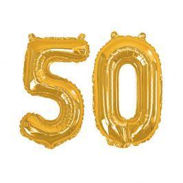 Balónek s číslem 50 Neviti Gold