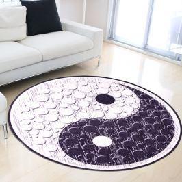 Odolný koberec Vitaus Rossano, ⌀ 80 cm