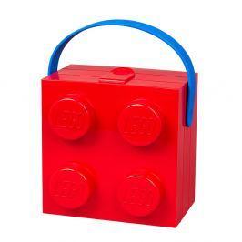 Červený úložný box s rukojetí LEGO®