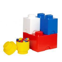 Sada 4 úložných boxů LEGO®