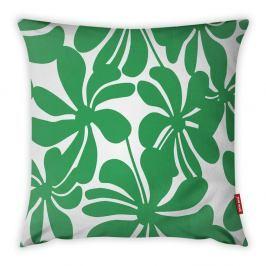 Zeleno-bílý povlak na polštář Vitaus Jungle Paradiso, 43 x 43 cm