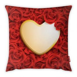 Povlak na polštář Vitaus Heart, 43 x 43 cm