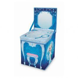 Rozkládací úložný box s hracím stolkem Domopak Frozen