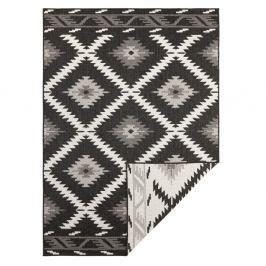 Černo-krémový venkovní koberec Bougari Malibu, 230 x 160 cm
