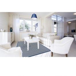 Modrý vysoce odolný koberec vhodný do exteriéru Webtappeti Braid, 200x285cm