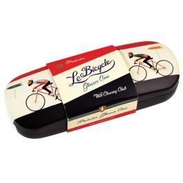 Pouzdro na brýle s čistícím hadříkem Rex London Le Bicycle