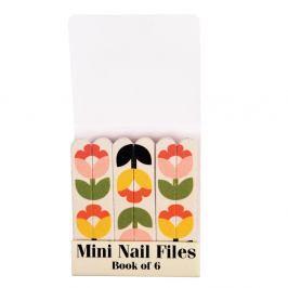 Sada 6 malých pilníčků na nehty Rex London Tulip Bloom