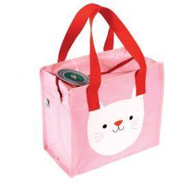 Růžová taška Rex London Cookie the Cat