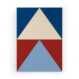 Obraz na plátně Really Nice Things Colorful Triangles, 50x70cm
