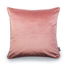 Růžový povlak na polštář WeLoveBeds Heard Wood, 50 x 50 cm