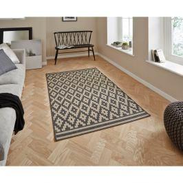 Šedý koberec Think Rugs Cottage,160x220cm