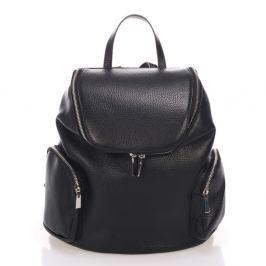 Černý kožený batoh Lisa Minardi Mardi