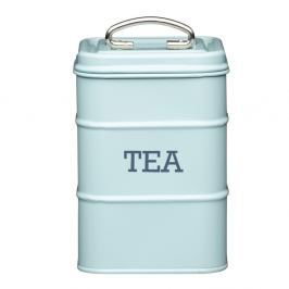 Modrá plechová dóza na čaj Kitchen Craft Nostalgia