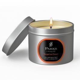 Svíčka s vůní mandarinek Parks Candles London, 25 hodin hoření