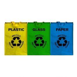 Sada 3 tašek na tříděný odpad Premier Housewares Eco, 40 l
