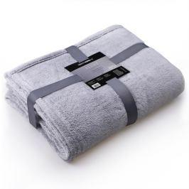 Světle šedá deka z mikrovlákna DecoKing Soft, 150 x 200 cm